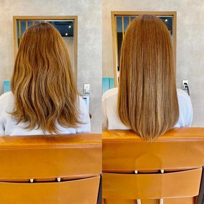 ✨髪質改善✨酸熱トリートメント+カット⭐︎広がるクセ、ボリュームを抑える‼︎※縮毛矯正、ストレートパーマではありません。