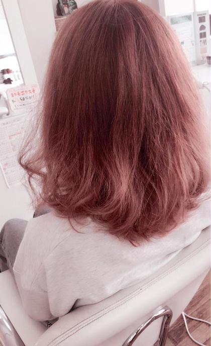 グラデーションを使った3Dカラーです! kaminomori -International Hair Concepts-所属・高橋優希のスタイル