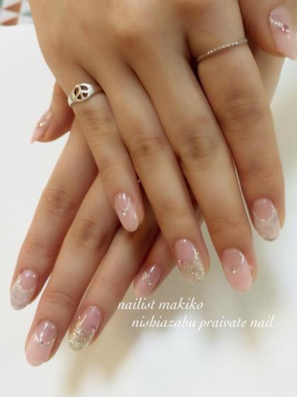 淡めタイダイ  nishiazabu private nail所属・nailartistmakikoのフォト