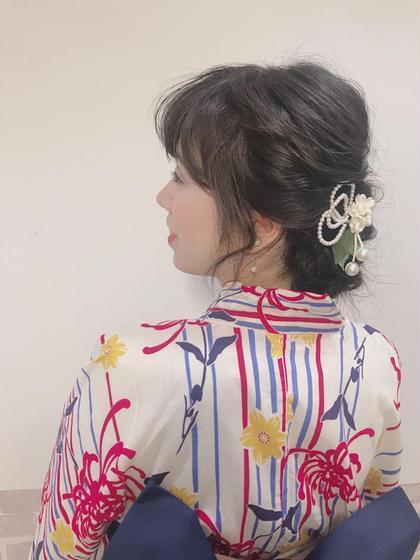 ≀夏におすすめ≀浴衣着付け+ヘアアレンジ