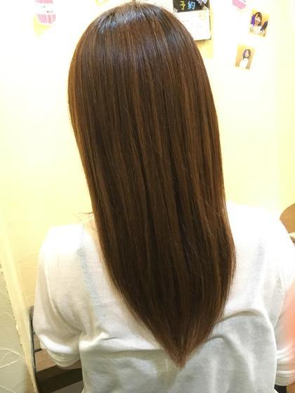 多毛さんでバナナクリップがとめられないのがお悩みだったお客様。 長さは変えずに、毛先を整えて量を軽くさせて頂きました(^ ^)  Dejave  hair&space西千葉店所属・中村朱里のスタイル