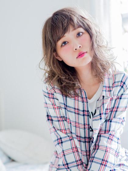 ◆ミニモプライス◆【大人気セット☆】カット+カラー+コスメパーマ《集中補修ケア付》