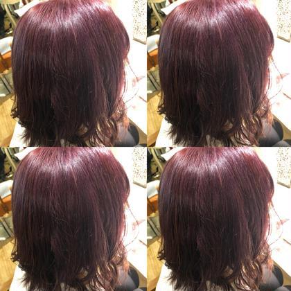 🌼カット➕潤い艶カラー(長さ料金なし)