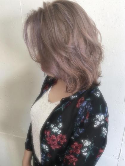 カラー ペールモーヴ【ブリーチ2回】