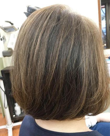 オーガニックヘアカラーブロー付き!リタッチor全体どちらでも⭕️白髪染めオシャレ染めどちらでも⭕️ブリーチは+料金