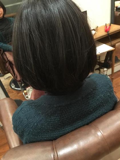 カラーリングはネイビーブルー! aile Organic Hair Salon西大寺店所属・出永奨のスタイル