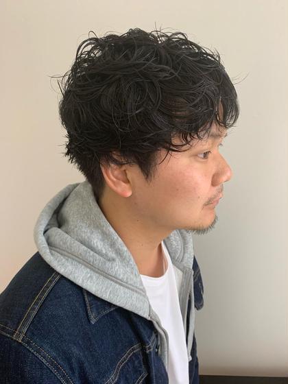 🖤【men's限定クーポン】カット+ニュアンスパーマ🇰🇷💜