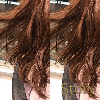 🌺【黒髪からでも透明感!】スペシャル透明感カラー&3stepトリートメント🌺