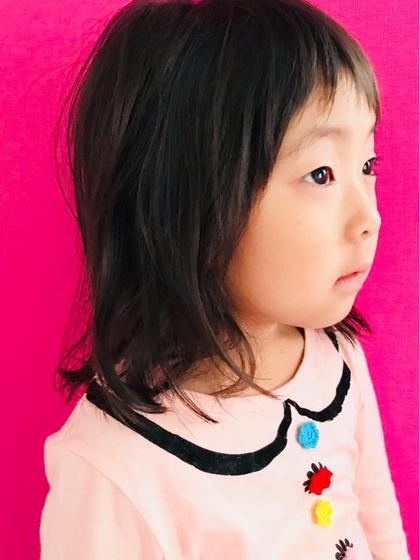 キッズ歓迎🌸【0歳〜6歳までの未就学児カット】