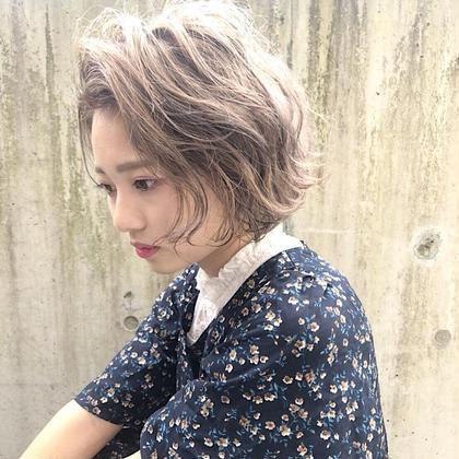 【圧倒的透明感】ケアブリーチ+フルカラー
