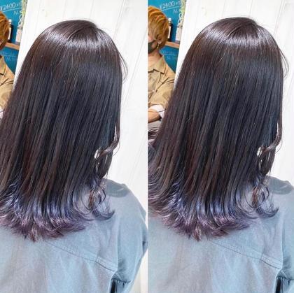 【人気🌻】裾カラー(2~3センチ)ブリーチ×全頭カラー×保湿トリートメント