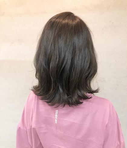 【美容液で洗う】お試しoggi otto+イルミナorエヌドットカラー+カット