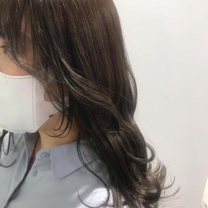 【🌙大人気メニュー🌙】🇰🇷前髪&顔まわり韓国風🇰🇷後れ毛カット+透明感カラー💗 第一印象は前髪で決まる!
