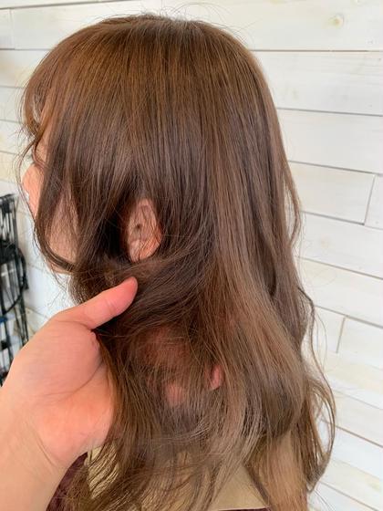 ❣️前髪カット & ダブルカラー❣️
