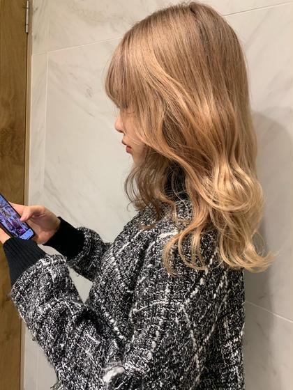 🌿お洒落女子必見🌿 顔周り前髪カット🍋+ケアブリーチ+透明感カラー+髪質改善トリートメント