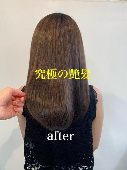 新規✨似合わせカット➕髪質ケアカラー➕縮毛矯正 ➕内部補修トリートメント
