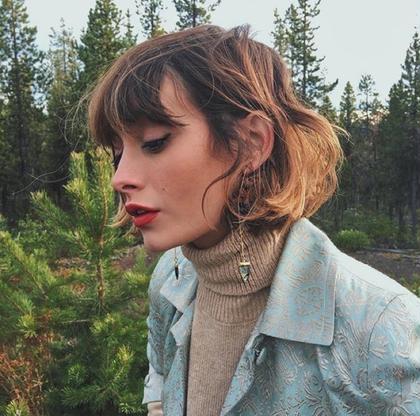 その他 カラー ショート パーマ ヘアアレンジ image ⚡︎ . 作り込むより自然に動いた時の 髪の動きが良かったりするし、色落ちした時の髪の色もそう。 . だからその先をイメージしてつくっていきます✱ ✱ ✱ . . #image#カット#カラー
