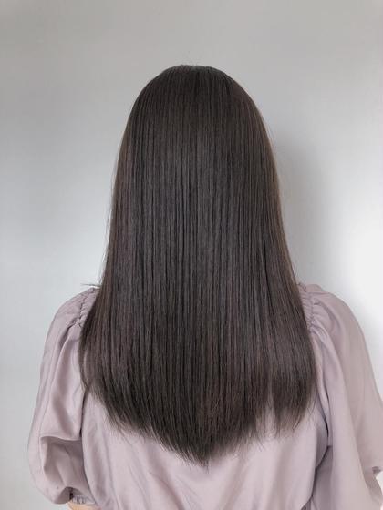 🕊【ご新規様限定•髪質改善】カット&ケラ熱トリートメント&スパシャンプー付き✨