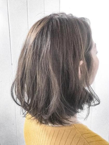 井上野乃花のミディアムのヘアスタイル