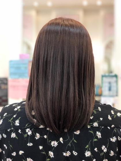 ツヤ感髪質改善縮毛矯正 まるで自分の髪じゃない 手触りを!