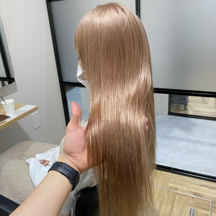【お得🌟】ブリーチ+カラー+髪質改善トリートメント