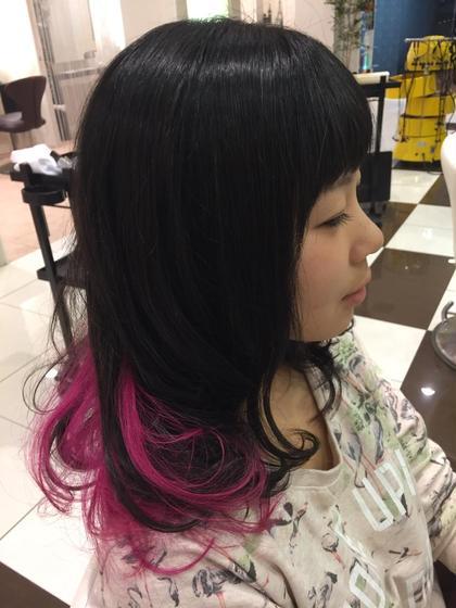 インナーカラー Another hairsalon所属・小野拓馬のスタイル