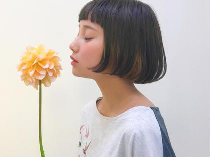 前上がりボブ B-THREE by shinju international所属・小森賢太郎のスタイル