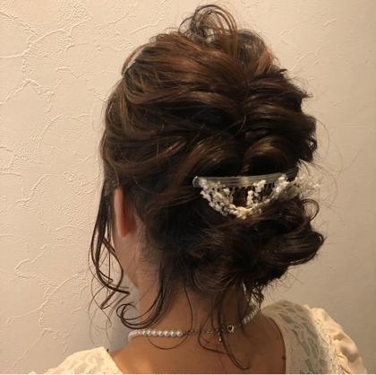 結婚式arrange♡¥1080 内藤莉子のヘアアレンジ