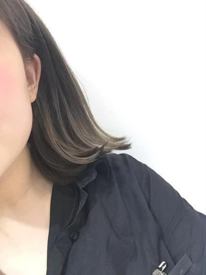外国人風グラデーション WiLL所属・林慧真のスタイル