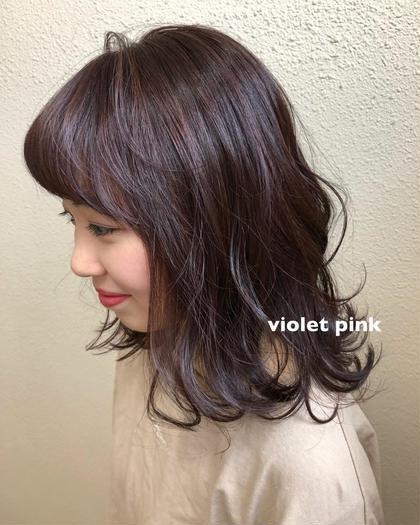 【前髪は絶対🌈✨】前髪カット+カラー