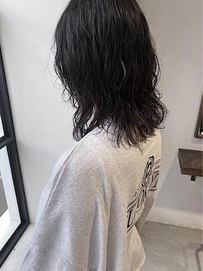 【朝楽】潤いパーマ&トリートメント (営業終わり20時受付※土日19:30受付)