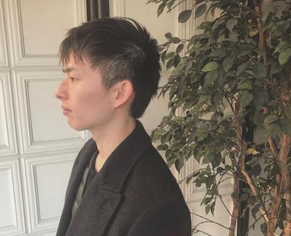 トップに長さ残しつつ サイドはすっきりと✍! 丸山惠愛のメンズヘアスタイル・髪型