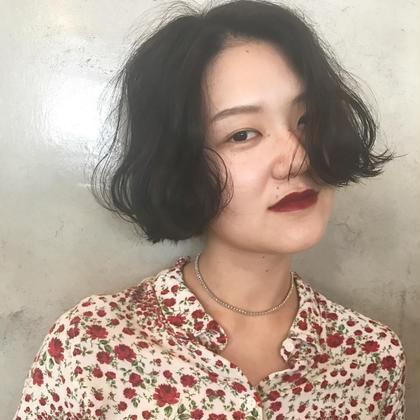 ⭐️⭐️⭐️hair set ⭐️⭐️⭐️ salon de milk 原宿店所属・大川美桜のスタイル