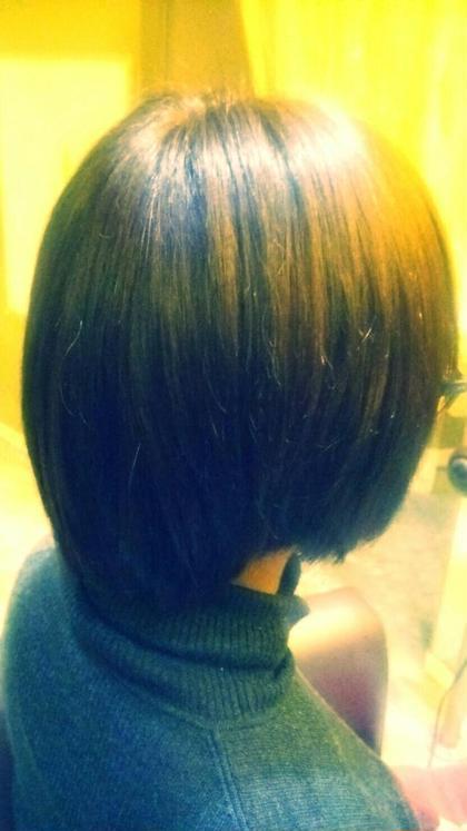 カラー:マットブラウン A'J hair所属・長岡未希のスタイル