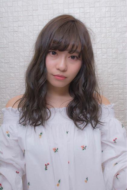☆ブルーブラック☆ HIAR CREATE CLEAR due所属・安藤大陸のスタイル