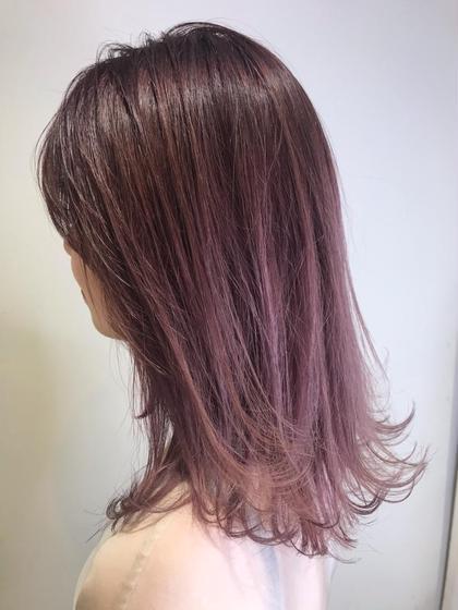 ✨ブリーチ代0円✨カット+グラデーションカラー!一歩先行くオシャレ髪🥰徐々に変化する髪色へ😳✨