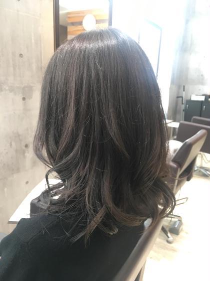 ✂️前髪カット+透明感カラー✨+ブロー