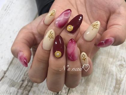 N's nail所属のnnのネイルデザイン