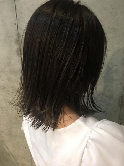 🌟【綺麗にメンテナンス❣️】前髪カット+ シースルーカラー+TOKIOトリートメント🌟