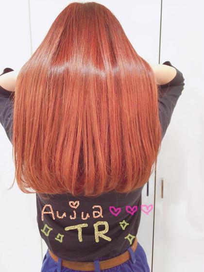 ♡ Aujua ♡shampoo × treatment ✧⃛ 4 step ..  初回¥4000 → ¥2000 でご利用いただけます❣️ ZEST所属・matsubaraminaのスタイル
