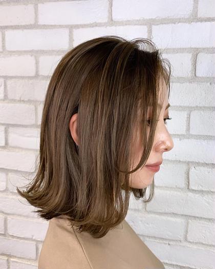 ✨ダメージ80%off✨前髪カット+イルミナ+アディクシーカラー+グロストリートメント「フルカラー+¥500」