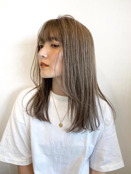 【ちょっとしたうねりや広がる髪に✨】カット+髪質改善チューニング