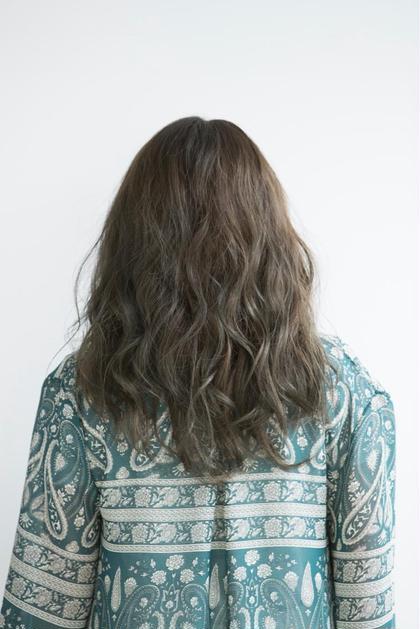 【新規】前髪カット+ハイブリッドカラー+トリートメント