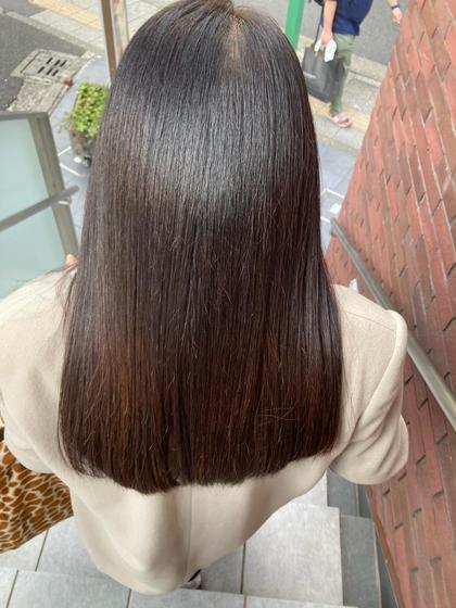 U24💇♀️SNSで話題📱髪質改善トリートメント(ゴールドコース)+調整カットし放題!