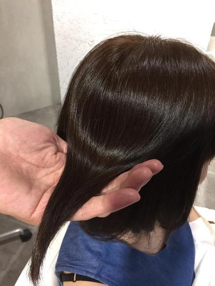 イルミナカラー × ストレートパーマ COKETH (コークス)所属・かわいゆうなのスタイル