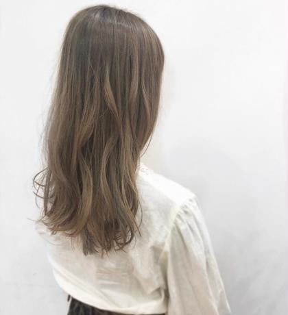 【平日限定*ブリーチ無し外国人風♩】ハイ透明感カラー+Tr