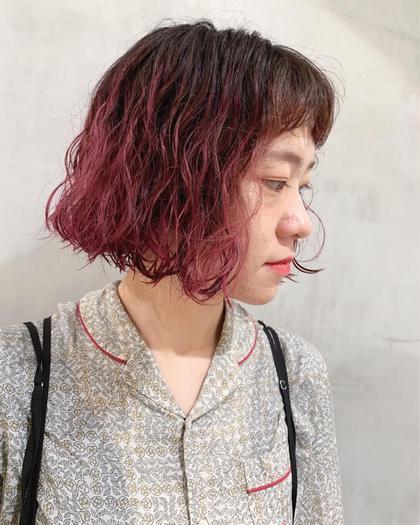 ✂︎ 【初回】カット+コスメパーマ+トリートメント