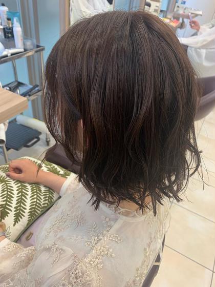 💖 透明感カラー ❤︎ パサ髪ケアトリートメント 💖