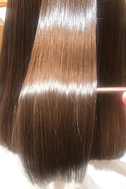 一度髪質改善treatmentを試してみて とぅるとぅるツヤツヤhairを 手に入れませんか?☺️🌼