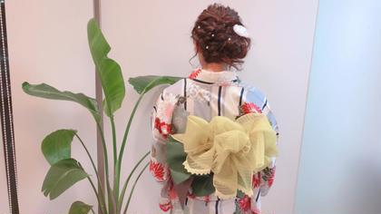浴衣、着物だけでなくドレスなどにも◎大切な日のヘアセット! Hair&Make PARIER所属・三木 千鶴のスタイル